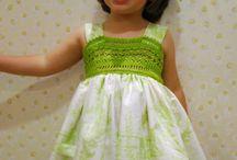 Платье с вязанием