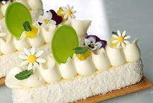 rectangle sweetpaste, cake