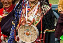 Tibetan women / femmes tibétaines