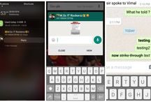 Whatsapp New Updates Brings Format Text, Reply button in Notification & More