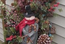 ╭⊰✿Merry Christmas✿⊱╮ / Christmas decor / by Pamela Cook