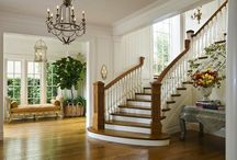 Foyer and Stairs / by Lynda @ Gates of Crystal