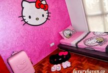 Luxury Haven Hello Kitty Collection / Here's my favourite Hello Kitty gadgets etc, & do check out my guest/study room by Nippon Paint!