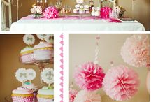 Birthday ideas: Pink and Gold