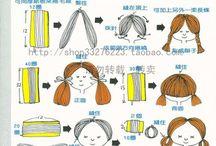 doll hairs