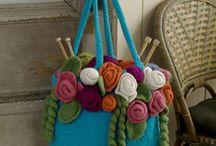Knitting - Purses, Jewelry, Gifts, stuffed animals