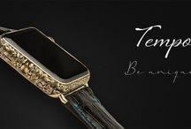 """Legend """"Tempo"""" Apple watch / World's most luxorious Apple watch with 24k gold , hand engraved case by master engraver and premium grade crocodile leather strap. More information : http://www.legend-helsinki.com"""