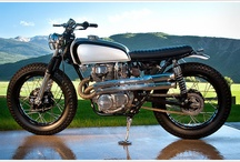 Motorbike metalwork