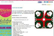 Christmas tree patterns/xmas patterns too