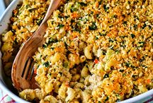♨ Entree - Mac & Cheese (low carb; gluten free) / For gluten free, use gluten free pastas. Verify canned/bottled sauces, meats & cheeses are gluten free before using. ALWAYS VERIFY INGREDIENTS AS GLUTEN FREE FOR YOURSELF. / by Jessica McK