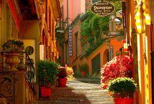 Steder å reise til I Italia