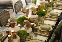 mid winter table ideas