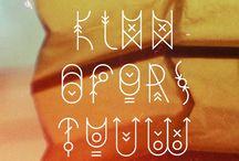 Skrift/bokstaver