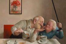 Marius van Dokkum~ Holland művész és illusztrátor