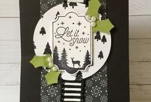 Stampin Up Carols of Christmas/Merry Little Labels
