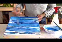 pittura acqua mare