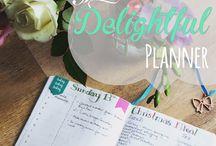 The Delightful Planner Blog