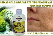 manfaat jelly gamat gold g untuk bopeng bekas jerawat