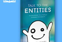 TTTE Books / Longer reads by Shannon. Topics include personal anecdotes and stories, ghosts, spirits, haunted houses, and communicating with entities.  https://talktotheentities.com/product-category/books/