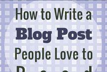 Blogging and website design