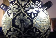 Authentic Pottery! / Beautiful handmade, hand painted pottery!