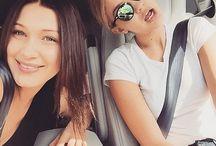 Gigi&Bella Hadid