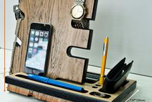 Phone, IPad an accessories storage