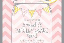 Pink Lemonade Birthday Leah & Kennedy