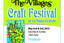 The Villages Craft Festival / 6th Annual The Villages Craft Festival at La Plaza Grande ~ May 2nd - 3rd, 2015  ~ Saturday and Sunday ~ 10am - 5pm ~ For more information, visit www.artfestival.com / by American Craft Endeavors