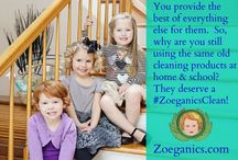 Why I Need a #ZoeganicsClean / I'm getting creative to win a gift pack of #ZoeganicsClean non-toxic cleaners!   (entry example board in support of our friends at Zoeganics, not an entry)
