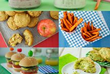 Kid food / by Adrienne Covey