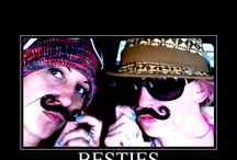 "Besties  / You will find only a few in your travels around that Sun that you can count on through it all, laugh with without hesitation, help without question and find that there are never enough moments spent together...these elite few get the supreme title of ""Besties"" / by Phoenix Artistry"