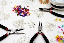 kit creation bijoux,perles,pinces,cordons,accessoires bijoux,fil
