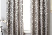 Focus Frame Curtains-Decor and Drapes / Give any room a new point of view with the Alba designer curtain, featuring a modern yet elegant motif with a light sheen for added luxury.   Dimensions: Each curtain panel is sold separately. Two panels are typically required for an average window. Please see the size options for further details.