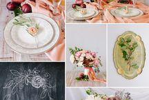 Fall Wedding Inspiration / M & A's wedding inspiration board
