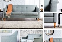 Mid Century Modern Love - Sofas / We can't get enough of the timeless Mid Century Modern look. Check out this board dedicated to seating!