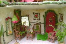 Fairy house interiors