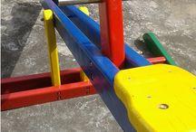 Playgrounds de Madeira. Wood playgrounds / Playgrounds para praças, parques, condomínios e escolas. www.zanatoys.com.br