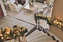 Christmass living room