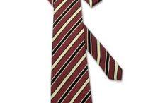Diagonal stripes ties for men