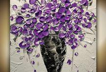 Flower Bouquet paintings