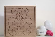 Baby Gifts / Bespoke baby gifts for new and expecting parents.