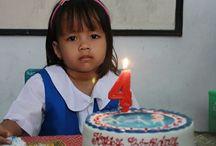 Jihan 4th birthday party / Happy birthday, Jihan ! Jadilah anak yang cerdas dan membanggakan untuk kedua orangtuamu. Amin