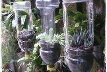 Récup bouteilles plastiques
