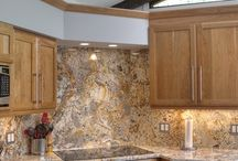 Backsplash Ideas / Dream Kitchens, Located in Nashua New Hampshire, Winner of over 200 awards!  / by Dream Kitchens-Kitchen and Bathroom remodeling