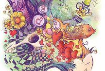 Ilustrações e Colagens