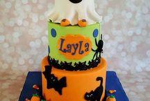 halloweennn cake