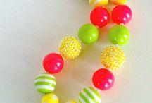 bubble gum necklaces / by Mikka Jameson