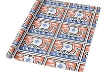 Wrapping Paper / find different and unique type of wrapping paper, from colorful abstract to photo wrapping paper.