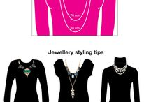 Fashion: Necklaces - how to wear / How to wear necklaces